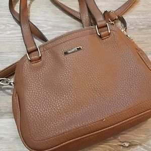 Roots 73 Brown Vegan Leather Purse Crossbody Strap